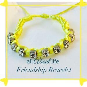 Yellow Friendship Bracelet